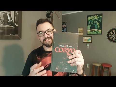QUADRINHOS - As melhores HQs! O Corvo! HQ O Corvo! Darkside Books! Resenha da HQ de James O´Barr!