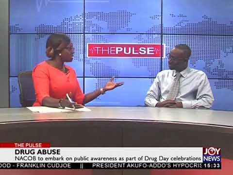 Drug Abuse - The Pulse on JoyNews (25-6-18)