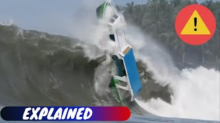 Boats Destroyed By Waves! Huge Mistake!!