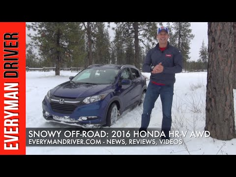 Snowy Off-Road: 2016 Honda HR-V AWD On Everyman Driver