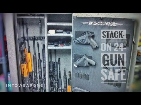 Stack-On 24-Gun Fire & Waterproof Safe Review