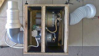 Система удаления выхлопных газов со скользящим балансиром