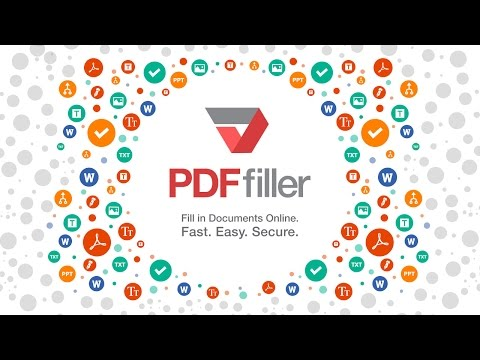 PDFfiller: Online PDF Editor Chrome Extension