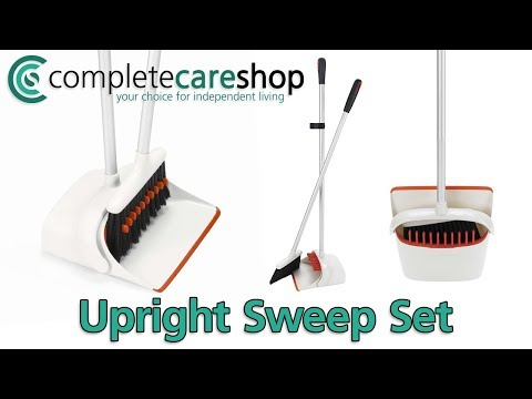 Sweep The Floor Without Having To Bend Down