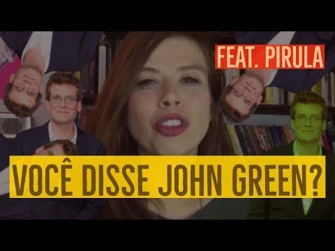 O NOVO LIVRO DO JOHN GREEN feat. Pirula (Tartarugas até lá em baixo)