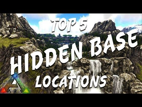 Ark ragnarok: top 5 hidden base locations