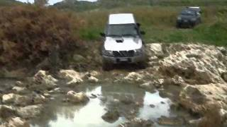 preview picture of video '1° Raduno Off Road Palma 4X4 29 gennaio 2012'
