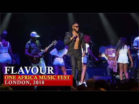 Flavour Performed Live At One Africa Music Fest, London 2018 [ Nigerian entertainment ]