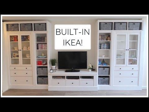IKEA HEMNES BUILT-IN HACK!   CHRIS & EVE