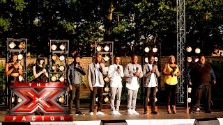 Group 2 Take On Proud Mary | Boot Camp |  The X Factor UK 2015