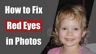 How to Fix Red Eyes in Photos With a Mouse Click