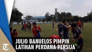Pimpin Latihan Perdana, Julio Banuelos Sudah Tahu Karakter Pemain Persija Jakarta