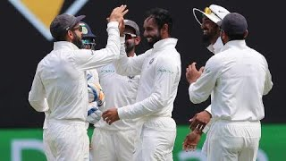 India got a massive lift from part-time spinner Hanuma Vihari when he forced an error from Shaun Marsh that saw the local hero exit for 45 just before the second new ball was due