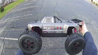 ARRMA - Outcast 6S BLX - Maiden Run (on 4S)