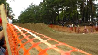 preview picture of video 'Motocross Lipno 26.08.2012 MX Dirt Bike Jumps'