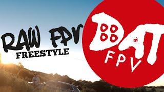 Fpv freestyle - FPV flight, sun trees flips and rolls #fpvfreestyle
