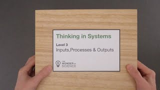 Thinking in Systems - Level 3 - Inputs, Processes and Outputs