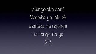 TANGO NA YE  Parole Lyrics Moise Mbiye