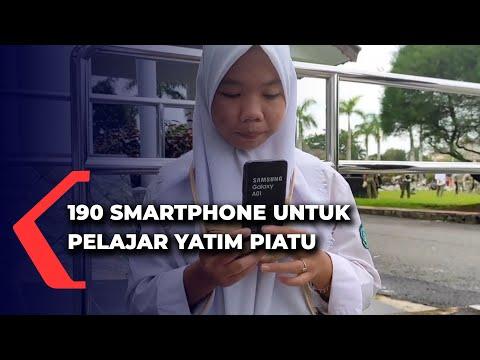 smartphone untuk pelajar yatim piatu