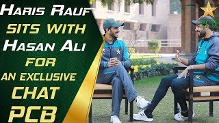 Haris Rauf sits with Hasan Ali for an exclusive chat | PCB