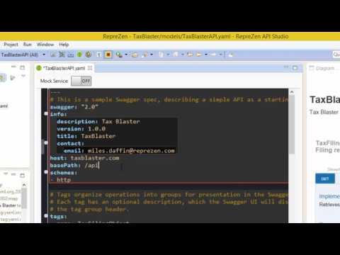 Editing Swagger-OpenAPI in RepreZen API Studio