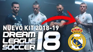 kits del real madrid 2019 para dream league soccer