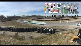 preview picture of video 'FolkRace Oponeo Cup 2015 - I Runda 22.03.2015 - Motopark Toruń'