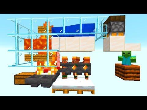 Die EINFACHSTE aktuellste Eisen Farm! - Minecraft 1.14.3 Tutorial