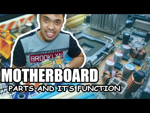 PARTS AND FUNCTION OF A MOTHERBOARD! DETAILED EXPLANATION (TAGALOG)