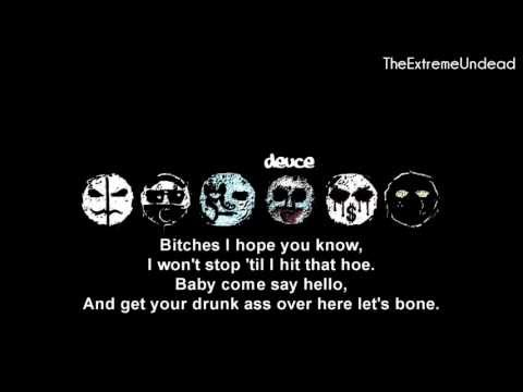 Hollywood Undead - Bitches [Lyrics Video]