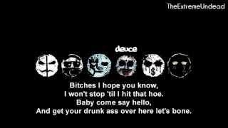 Hollywood Undead - Bitches [Lyrics Video]