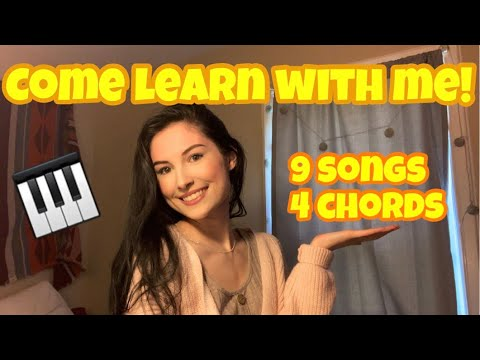 LEARN THESE 9 SONGS WITH ONLY 4 CHORDS! 🎹 (piano tutorial)