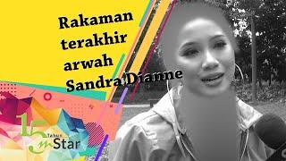 Rakaman terakhir arwah Sandra Dianne, luah hasrat mahu balik Sabah selepas selesai segala urusan