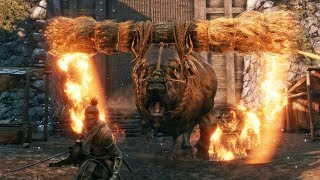 Sekiro: Shadows Die Twice - Blazing Bull Boss Fight
