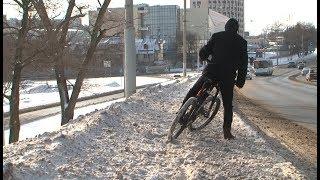 Как пользоваться велосипедом зимой