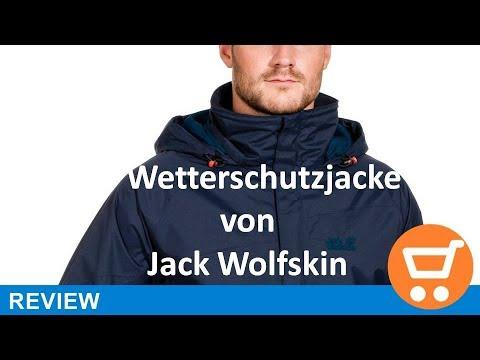 Jack Wolfskin Herren Wetterschutzjacke Spark Texapore Vent Jacket M - Review | deutsch / german