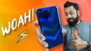 Honor View 20 Unboxing & Quick Review ⚡ Punch Hole Selfie, 48MP, Kirin 980 & GPU Turbo Hindi