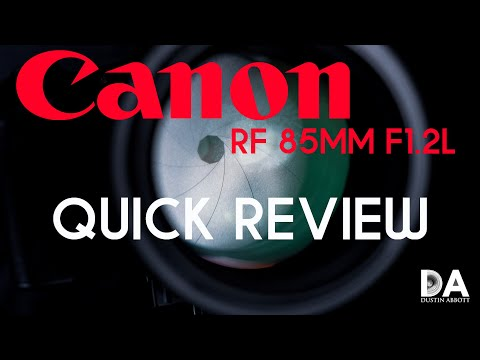 External Review Video KXij-l7eTOc for Canon RF 85mm F1.2L USM DS Lens