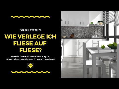 Fliese auf Fliese - Überarbeitung alter Fliesen mit einem neuen Fliesenbelag - SAKRET Heimwerker TV