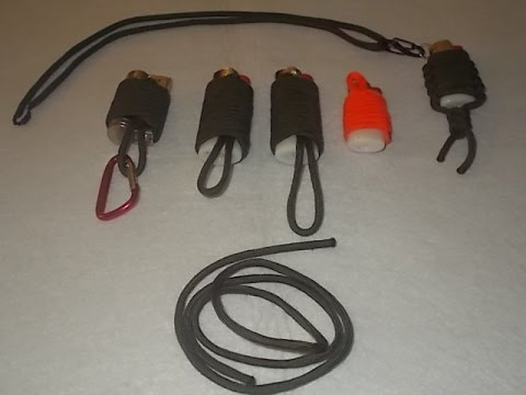 Paracord :tutorial de como encordar un mechero o encendedor BIC facilmente con paracord.