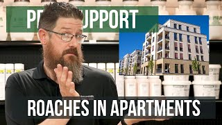 How do I Get Rid of Roaches in my Apartment? | Pest Support