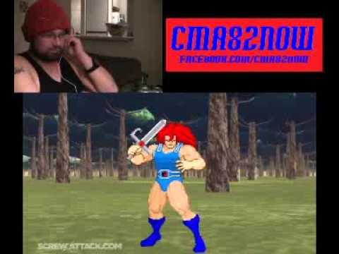 He-Man VS Lion-O-DEATH BATTLE!-ScrewAttack!-REACTION