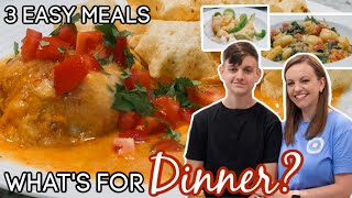 WHAT'S FOR DINNER? | EASY WEEKNIGHT MEALS | NO. 54