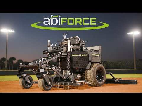 ABI Force z23s – Zero-turn Infield Groomer & Grader (Maintain & Renovate Baseball & Softball Fields)