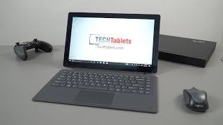 AllDoCube KNote 8 Unboxing & Hands-On Review. Core M3-7Y30 2-in-1 Windows Tablet