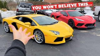 I Found a MAJOR HIDDEN Problem With My New Lamborghini... Ft. CALLING Our 900HP ZR1 Winner!!!