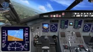 """Microsoft Flight Simulator X миссия - """"Пересаживаемся на реактивные самолёты"""""""