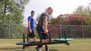 Strongman Strength Training Circuit to Develop Total Body Conditioning