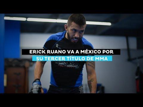 Erick Ruano busca su segundo título de MMA