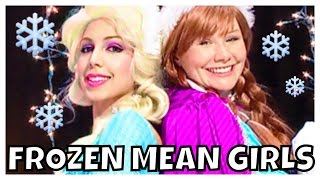 """Frozen Elsa and Anna songs and dance """"Jingle Bell Rock"""" Mean Girls"""